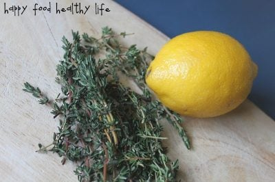 It's Lemon Thyme! Lemon Thyme Bars
