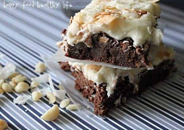 Tropical Hawaiian Brownies