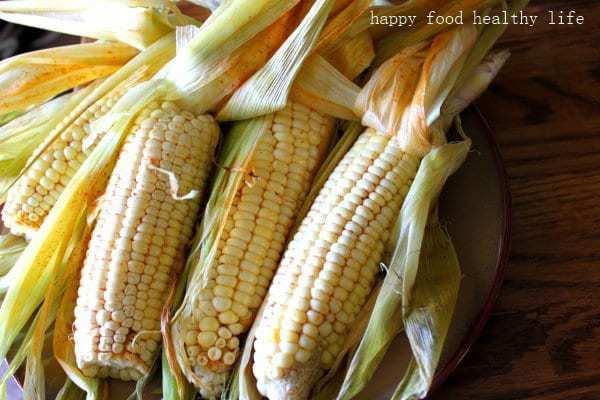 Chili Lime Corn on the Cob - Happy Food, Healthy Life