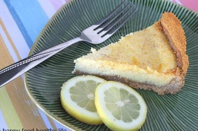 Lemon & Honey Tart