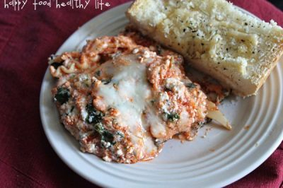 3-Cheese Spinach Lasagna for Grandma's Birthday