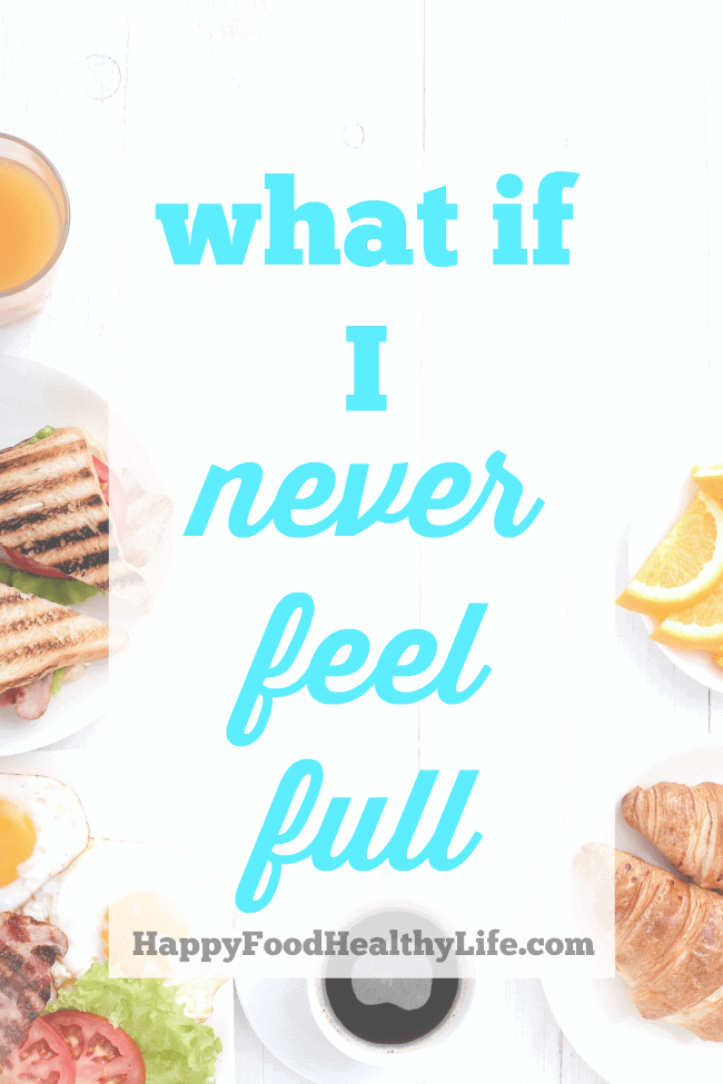 Ever just keep on eating and eating because your body isn't shouting at you and telling you that it's full? Find out WHY you never feel full anymore and then learn what you can do about it!