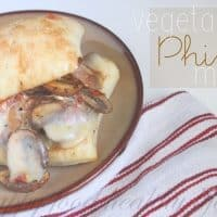 Vegetarian Philly Melt