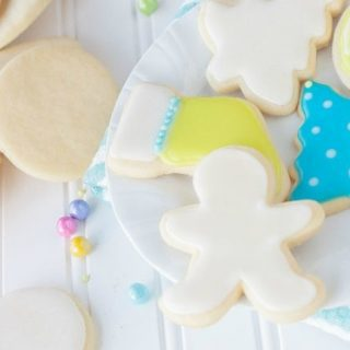 Perfect Soft Sugar Cookies - If you're looking for the best sugar cookie to cut out and decorate, this is the one for you. They stay soft for days and have a better flavor than most sugar cookies.