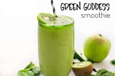 GREEN GODDESS SMOOTHIE - VEGAN SMOOTHIE