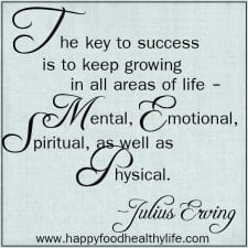 The Importance of Being BOTH Physically and Emotionally Healthy and Happy