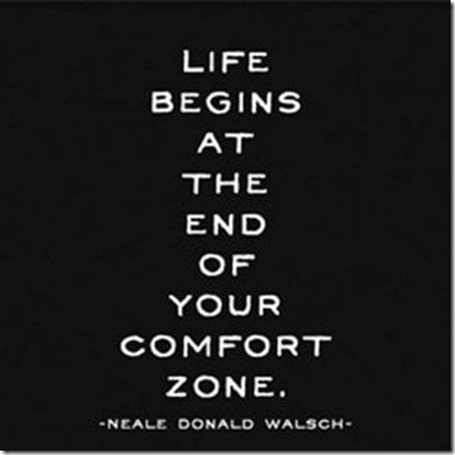Find out why getting out of your comfort zone is your way to success. Motivational Mondays