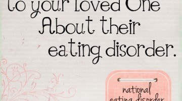 How to Talk To Your Loved One About Their Eating Disorder // Happy Food Healthy Life
