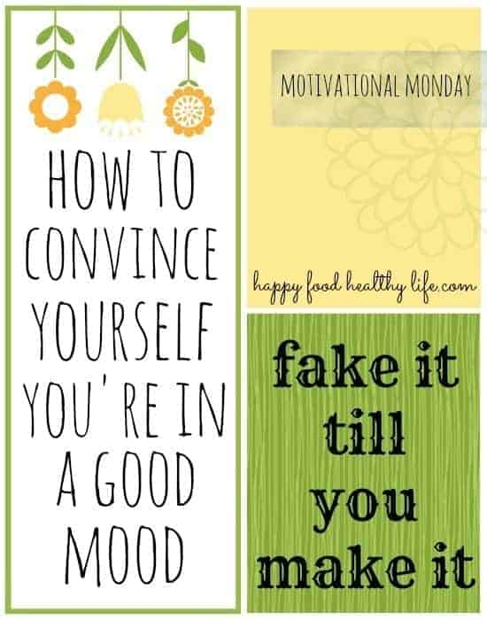 How to Convince Yourself You're in a Good Mood // Happy Food Healthy Life