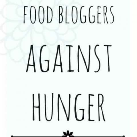 Food Bloggers Against Hunger – Economical Family Style Vegetarian Enchiladas