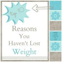 Top 10 Reasons Why You Haven't Lost Weight // Happy Food Healthy Life