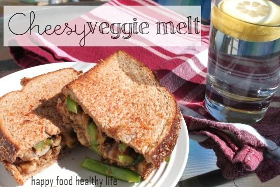 Cheesy Veggie Melt // Happy Food Healthy Life