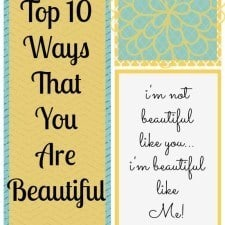 Top 10 Ways that you are Beautiful // Happy Food Healthy Life