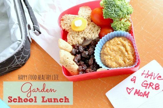 Garden School Lunch // Happy Food Healthy Life