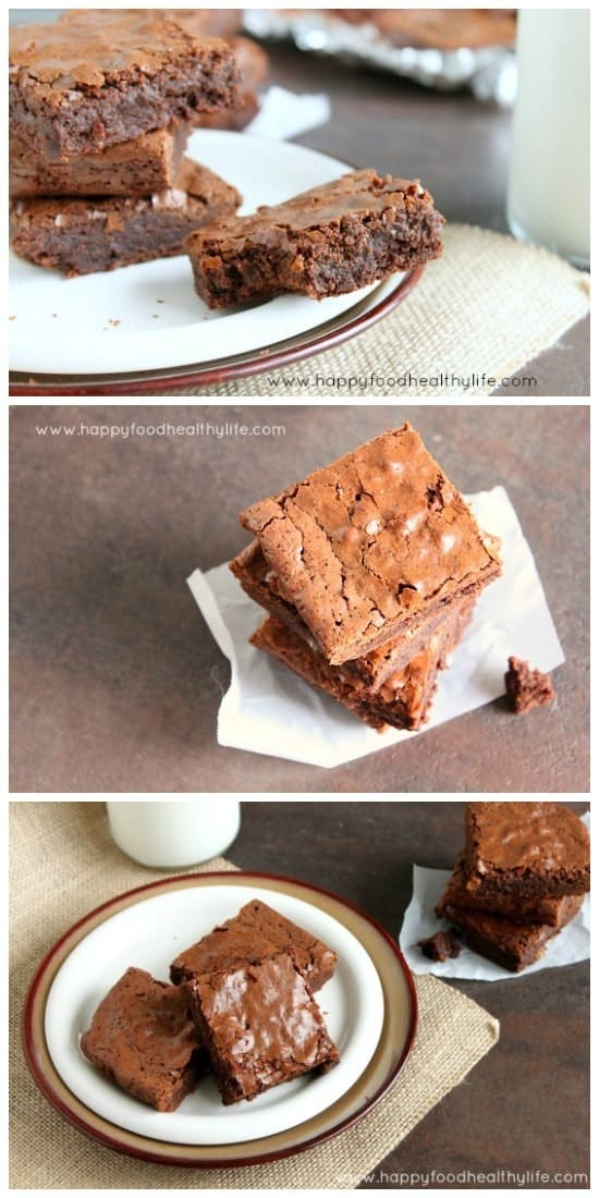 {My Interpretation of} The Best Brownies Ever // Happy Food Healthy Life