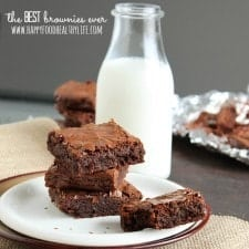 {My Interpretation of} The Best Brownies Ever // Happy Food Healthy Life