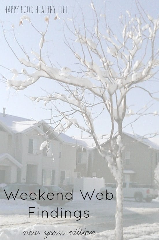 Weekend Web Findings - Things I've found Around the Web - New Year's Edition