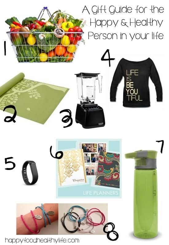 A Gift Guide for the Happy and Healthy Person in your Life