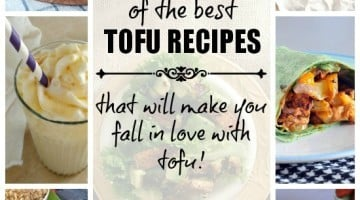 18 of the Best Tofu Recipes that will make you fall in love with TOFU! Dinners, Snacks, and even Desserts! a Round-up by www.happyfoodhealthylife.com