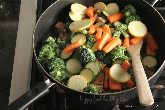 Marinated Tofu & Vegetable Bowl