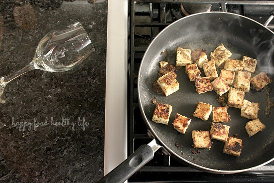 "That one time I ""accidentally"" spilled my wine into my marinated tofu and it was perfect. www.happyfoodhealthylife.com"