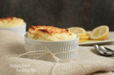 Fluffy Lemon Souffle