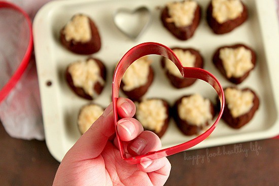 Coconut Brownie Bites - Little morsels of heaven from Holly @ www.happyfoodhealthylife.com