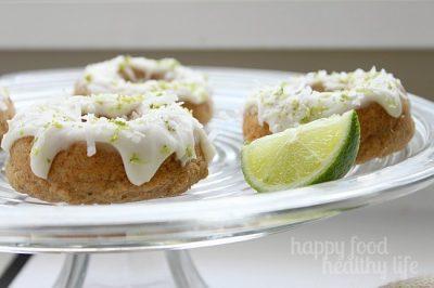 Coconut Lime Doughnuts