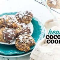 Healthy Coconut Cookies