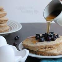 Healthy Whole-Wheat Pancakes