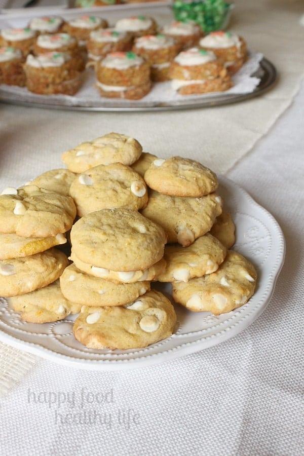 Orange Creamsicle Cookies - Springtime Dessert Bar - www.happyfoodhealthylife.com #dessert