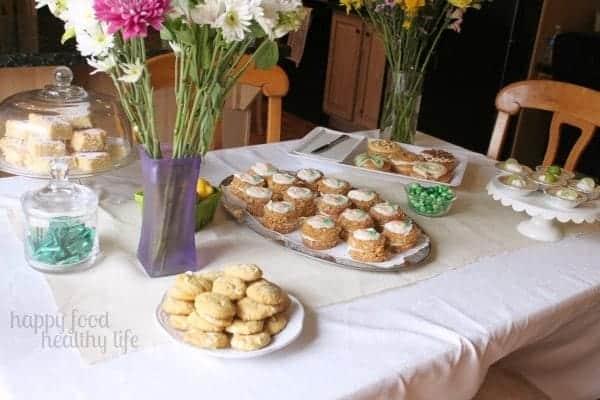 Springtime Dessert Bar - www.happyfoodhealthylife.com #dessert