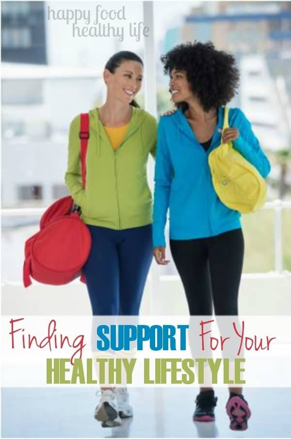 Finding Support for your Healthy Lifestyle. Ever wonder where you can find like-minded people who can help support you in living a healthy life? Here are some great ideas! www.happyfoodhealthylife.com