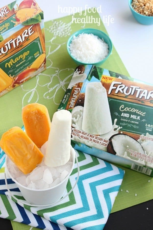 Fruttare Fruit & Juice Bars - A perfect refreshing treat for hot days. www.happyfoodhealthylife.com #FruttareMusic #PMedia #ad
