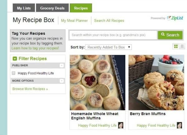 How to Save all Your Healthy Recipes in One Place www.happyfoodhealthylife.com