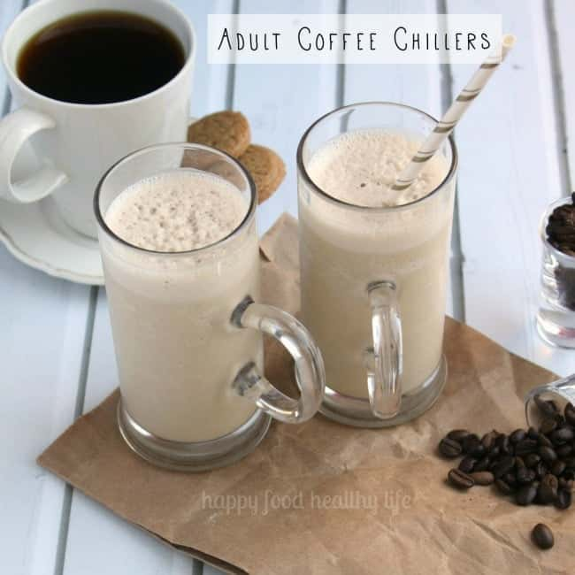 Adult Coffee Chiller - the best of both worlds. Coffee + Liquor. All in one! www.happyfoodhealthylife.com