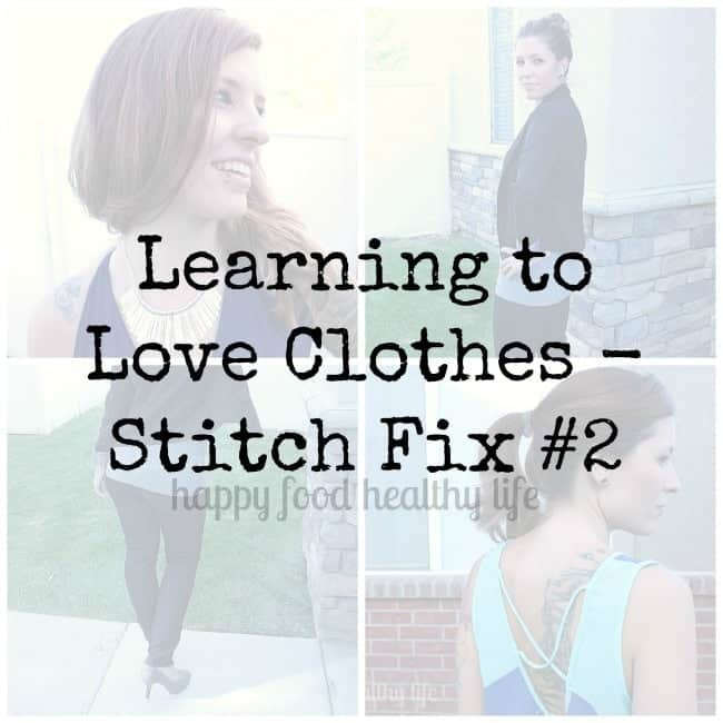 Learning to Love Clothes - Stitch Fix #2