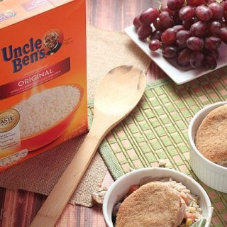 Rice and Vegetable Pot Pie Casserole