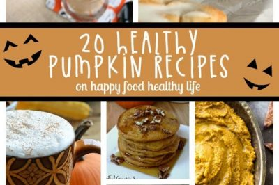 Top 20 Healthy Pumpkin Recipes