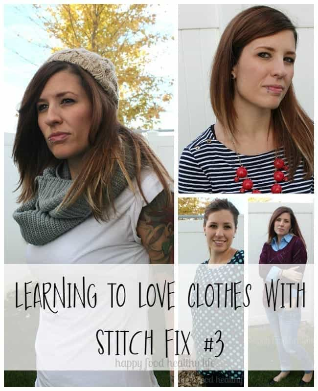 Learning to Love Clothes with Stitch Fix | www.happyfoodhealthylife.com