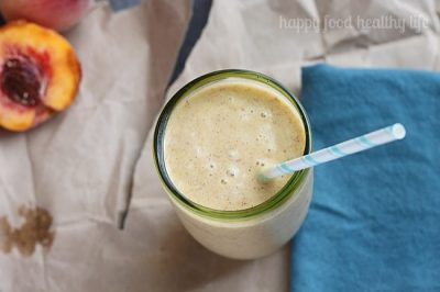 Pumpkin Peach Smoothie #PumpkinWeek