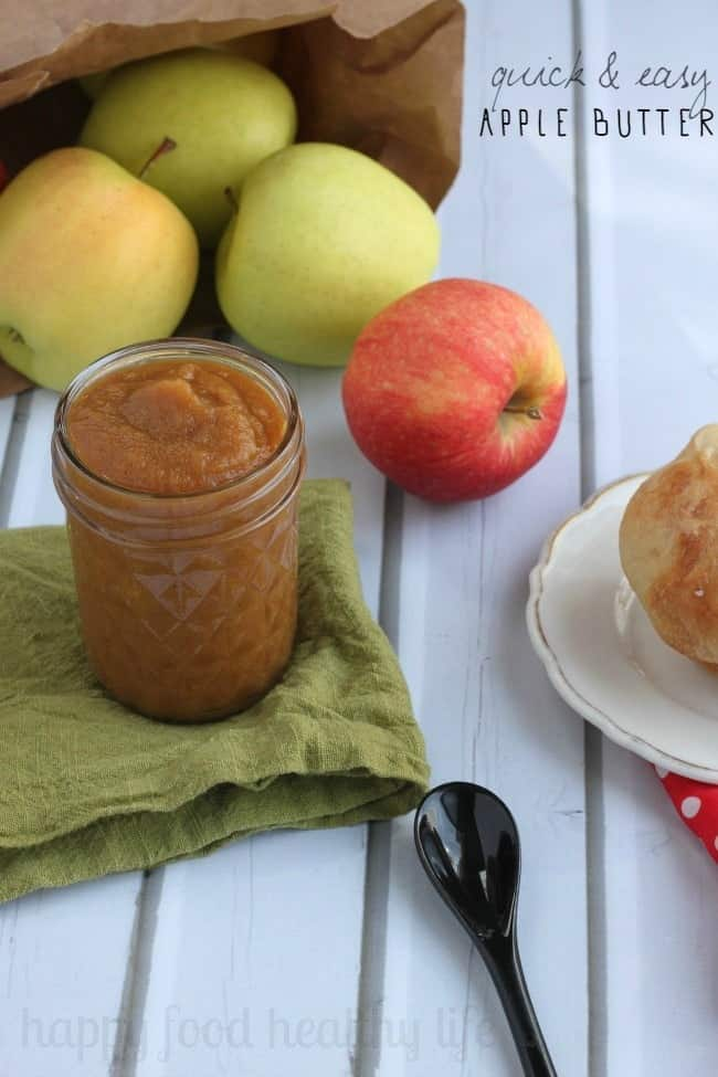 How to Make Quick & Easy Apple Butter in a Blendtec - www.happyfoodhealthylife.com