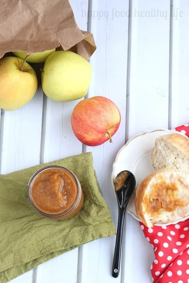 How to Make Quick & Easy Apple Butter in a Blendtec - www.happyfoodhealthylife.co
