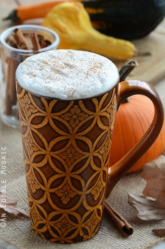 how to order low carb pumpkin spice latte