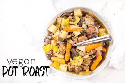 Slow Cooker Vegan Pot Roast