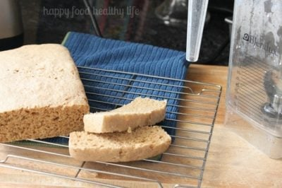 Whole Wheat Bread Made in a Blendtec