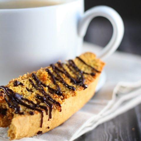 Whole Wheat Cinnamon Chip Pumpkin Biscotti