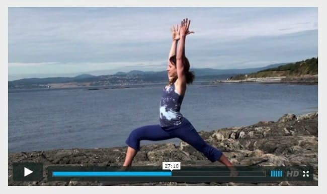 Foundations in Yoga - Fitness Fridays - www.happyfoodhealthylife.com
