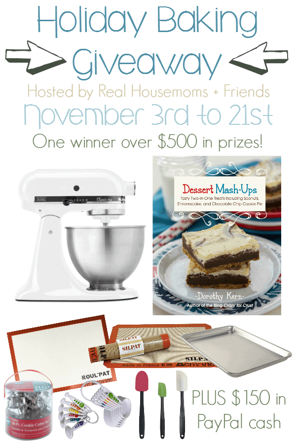 Holiday Baking Giveaway!! Get your holiday essentials - www.happyfoodhealthylife.com
