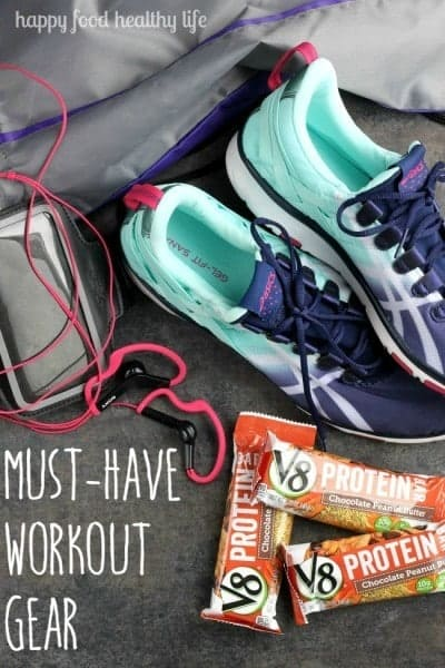 Must-Have Workout Gear - the few simple things I need to get through my workouts each day! www.happyfoodhealthylife.com